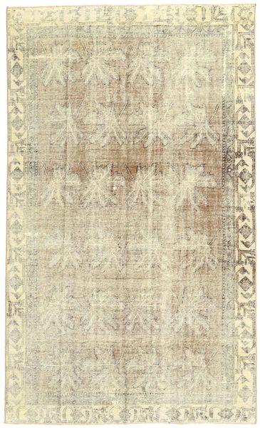 Colored Vintage Rug 180X305 Authentic  Modern Handknotted Dark Beige/Beige (Wool, Persia/Iran)