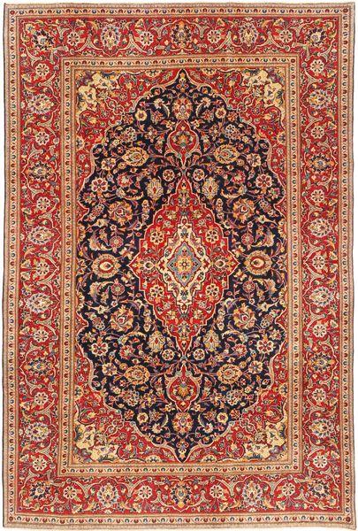 Keshan Patina Rug 190X290 Authentic  Oriental Handknotted Dark Red/Dark Brown (Wool, Persia/Iran)