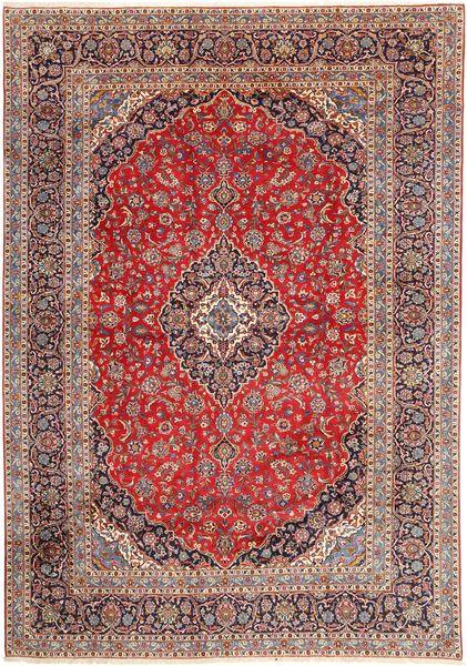 Keshan Matto 280X395 Itämainen Käsinsolmittu Tummanpunainen/Vaaleanruskea Isot (Villa, Persia/Iran)