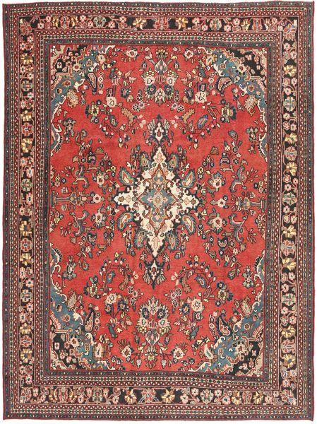 Hamadan Shahrbaf Patina Rug 266X360 Authentic  Oriental Handknotted Dark Red/Rust Red Large (Wool, Persia/Iran)