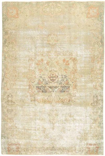 Colored Vintage Rug 188X280 Authentic  Modern Handknotted Dark Beige/Beige (Wool, Persia/Iran)