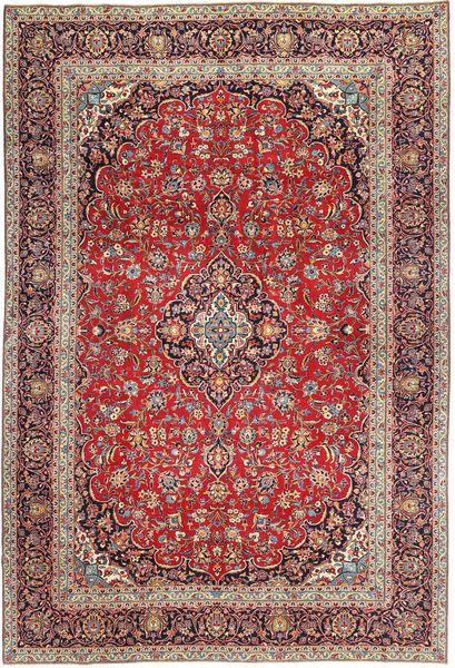 Keshan Patina Matto 280X410 Itämainen Käsinsolmittu Tummanpunainen/Vaaleanruskea Isot (Villa, Persia/Iran)
