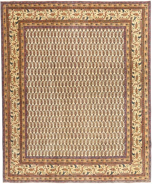Tabriz Patina Rug 248X296 Authentic  Oriental Handknotted Light Brown/Brown (Wool, Persia/Iran)