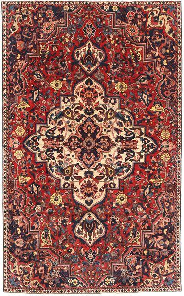 Bakhtiar Patina Matto 179X292 Itämainen Käsinsolmittu Tummanpunainen/Musta (Villa, Persia/Iran)