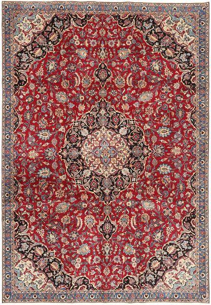 Nadżafabad Patina Dywan 220X322 Orientalny Tkany Ręcznie Ciemnobrązowy/Ciemnoczerwony (Wełna, Persja/Iran)