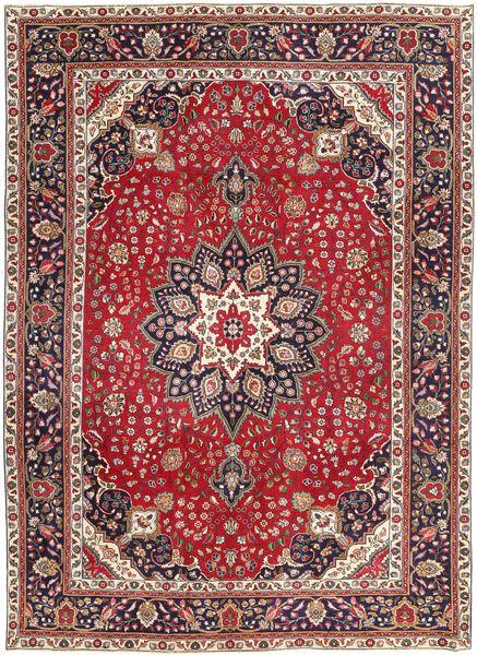 Tabriz Patina Rug 250X344 Authentic  Oriental Handknotted Brown/Dark Brown Large (Wool, Persia/Iran)