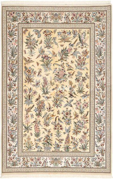 Isfahan silkerenning teppe AXVZZZL333