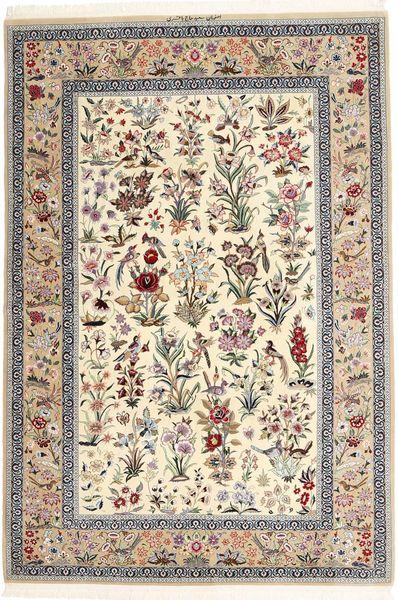 Isfahan selyemfonal szőnyeg AXVZZZL326