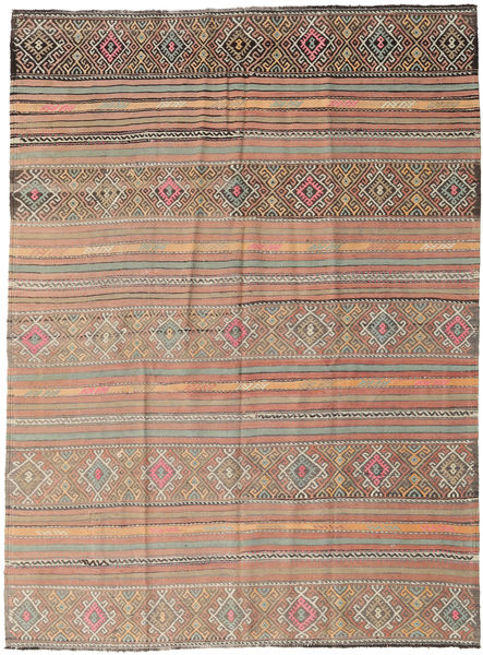 Kilim Turkish Rug 178X238 Authentic  Oriental Handwoven Light Grey/Light Brown (Wool, Turkey)