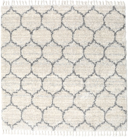 Meissa - Cream-Beige Mix/Grey Rug 250X250 Modern Square Dark Beige/Light Grey/Beige Large ( Turkey)