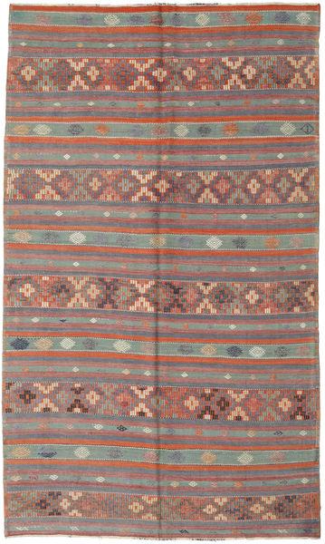 Kilim Turkish Rug 180X305 Authentic  Oriental Handwoven Light Grey/Light Brown (Wool, Turkey)