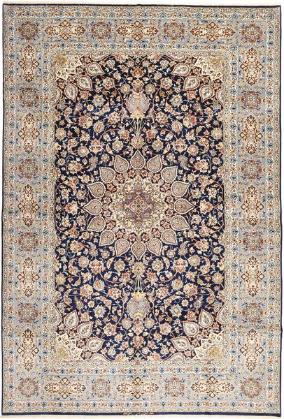 Isfahan silkerenning teppe AXVZZZL312