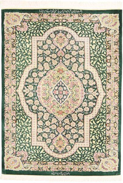 Ghom zijde tapijt AXVZZZL177