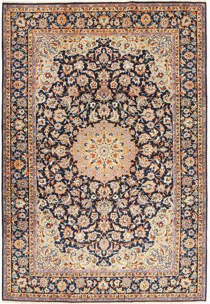 Najafabad Matto 247X354 Itämainen Käsinsolmittu Vaaleanruskea/Violetti (Villa, Persia/Iran)