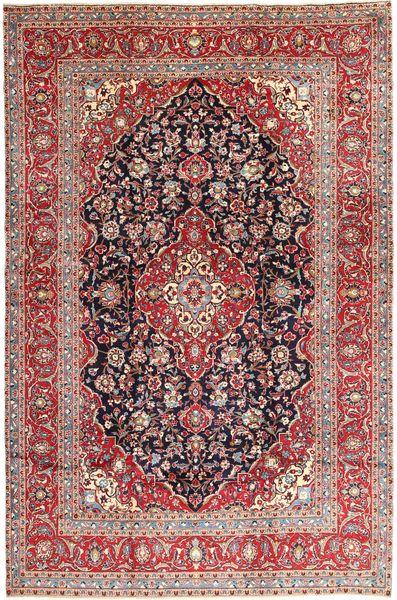 Keshan Matta 247X370 Äkta Orientalisk Handknuten Mörkröd/Brun (Ull, Persien/Iran)