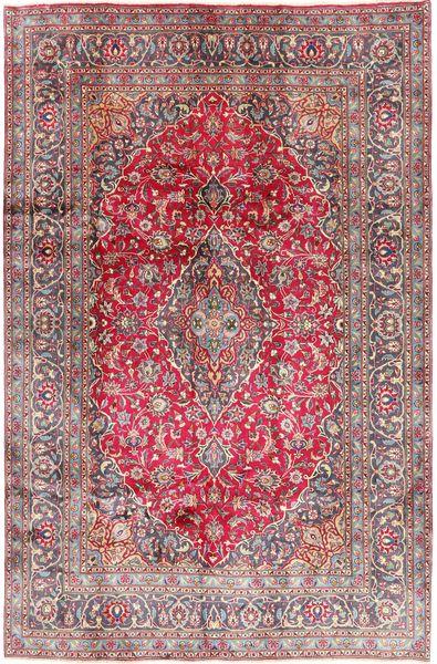 Kashmar Rug 192X290 Authentic  Oriental Handknotted Dark Red/Light Pink (Wool, Persia/Iran)