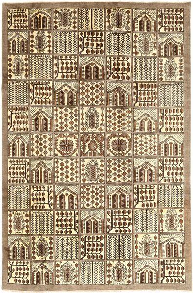 Tabriz Matto 185X285 Itämainen Käsinsolmittu Vaaleanruskea/Ruskea (Villa, Persia/Iran)