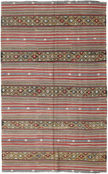Kilim Turkish Rug 172X278 Authentic  Oriental Handwoven Light Brown/Light Grey (Wool, Turkey)