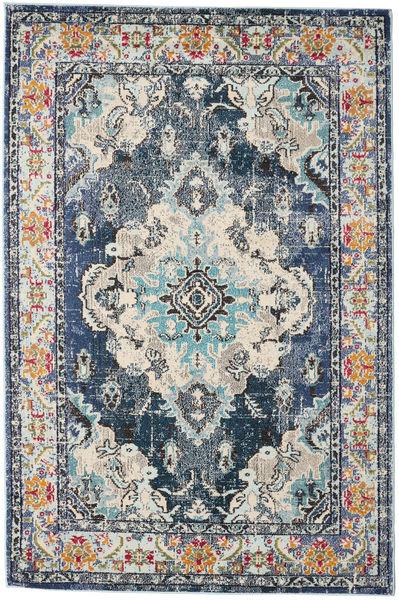 Leia - Blau Teppich  160X230 Moderner Hellgrau/Dunkelgrau ( Türkei)