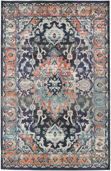Elnath Rug 200X300 Modern Light Grey/Dark Grey/Black ( Turkey)
