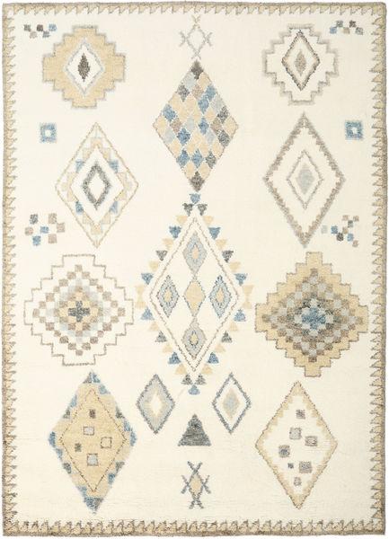 Berber Indisch - Off-Weiß / Beige Teppich CVD17658