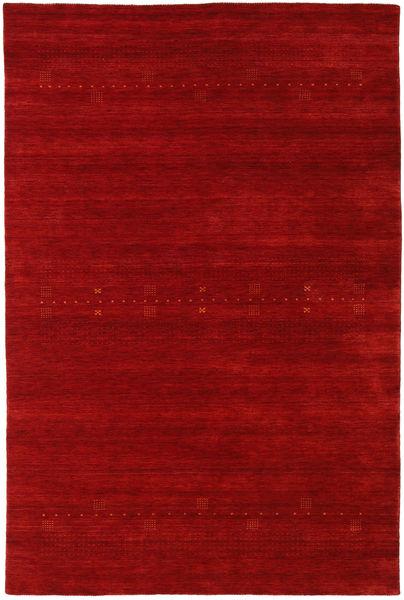 Loribaf Loom Eta - Rojo Alfombra 190X290 Moderna Rojo Oscuro/Óxido/Roja (Lana, India)