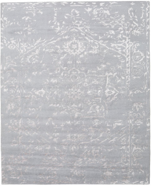 Orient Express - Grey Rug 240X300 Authentic  Modern Handknotted Light Grey/Light Purple (Wool/Bamboo Silk, India)
