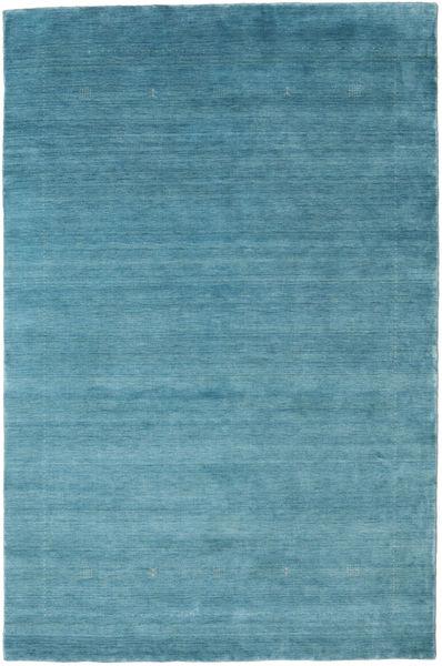 Loribaf Loom Giota - Blå Tæppe 190X290 Moderne Turkis Blå/Blå (Uld, Indien)