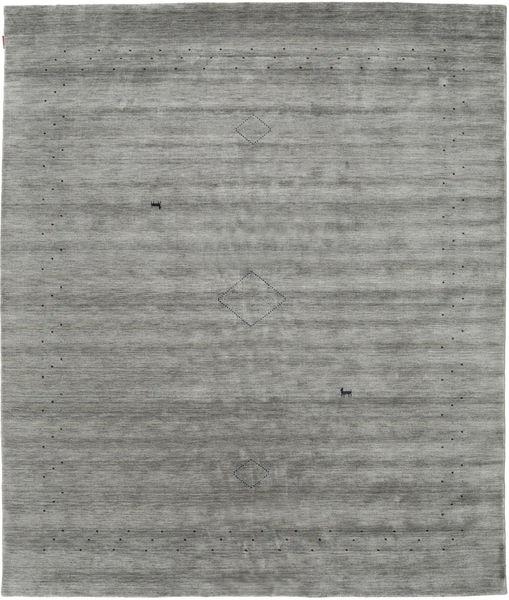 Loribaf Loom Alfa - Grey Rug 240X290 Modern Dark Grey/Light Grey (Wool, India)