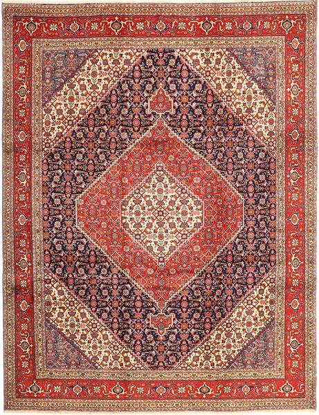 Tabriz Rug 265X340 Authentic  Oriental Handknotted Dark Red/Brown Large (Wool, Persia/Iran)