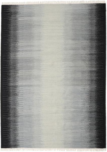 Ikat - Musta / Harmaa-matto CVD17485