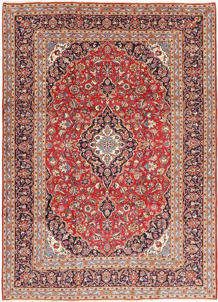 Keshan Matta 245X345 Äkta Orientalisk Handknuten Brun/Mörkbrun (Ull, Persien/Iran)