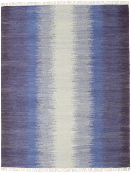 Ikat - Tumma Sininen Matto 240X300 Moderni Käsinkudottu Vaaleanharmaa/Violetti (Villa, Intia)