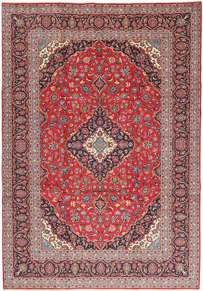 Keshan Matto 250X353 Itämainen Käsinsolmittu Tummanpunainen/Ruoste Isot (Villa, Persia/Iran)