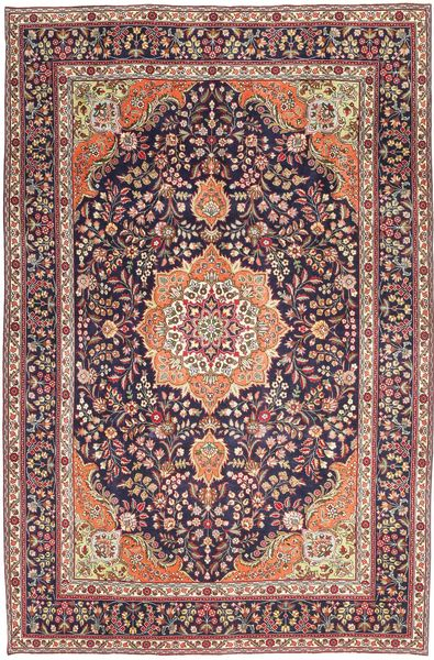 Tabriz Patina Rug 224X340 Authentic  Oriental Handknotted Light Brown/Dark Purple (Wool, Persia/Iran)