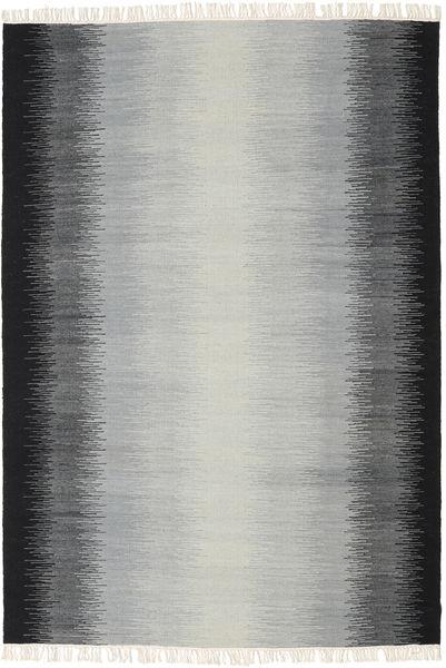 Alfombra Ikat - Negro / Gris CVD17489