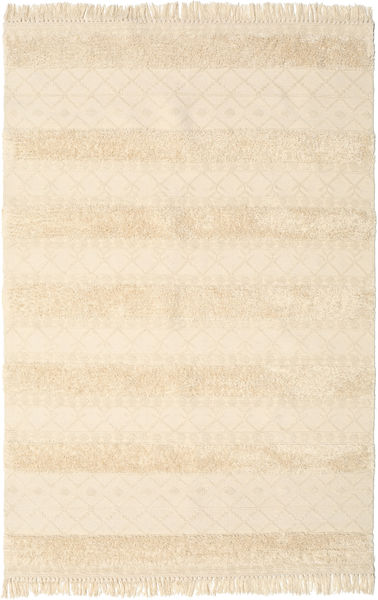Kilim Berber Ibiza - Natural Rug 200X300 Authentic  Modern Handwoven Beige/Yellow (Wool, India)