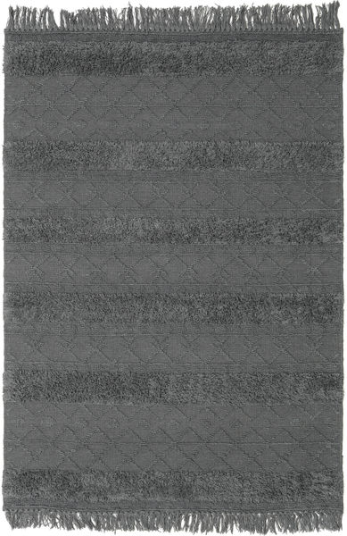 Kilim Berber Ibiza - Soft Grey Rug 160X230 Authentic  Modern Handwoven Dark Grey/Blue (Wool, India)