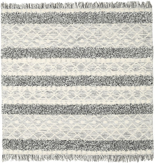 Kilim Berber Ibiza - Black and White Mix carpet CVD19394