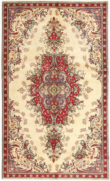 タブリーズ 絨毯 152X255 オリエンタル 手織り ベージュ/茶 (ウール, ペルシャ/イラン)