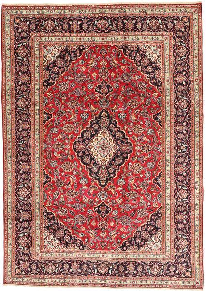 マシュハド 絨毯 196X280 オリエンタル 手織り 錆色/薄茶色 (ウール, ペルシャ/イラン)