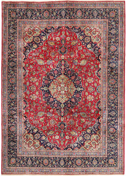 Kashmar Rug 242X335 Authentic  Oriental Handknotted Dark Purple (Wool, Persia/Iran)