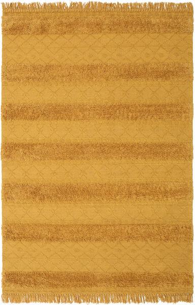 Kelim Berber Ibiza - Mustard Yellow-matto CVD19404