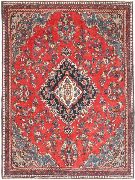 Hamadan Shahrbaf Patina Matta 208X275 Äkta Orientalisk Handknuten Mörkgrå/Orange (Ull, Persien/Iran)
