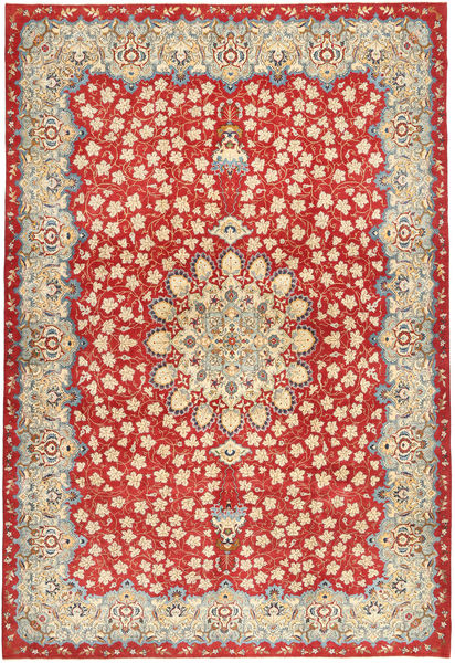 Najafabad Patina Teppe 266X382 Ekte Orientalsk Håndknyttet Rust Stort (Ull, Persia/Iran)