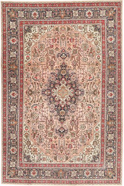 タブリーズ パティナ 絨毯 198X294 オリエンタル 手織り 薄茶色/ライトピンク (ウール, ペルシャ/イラン)