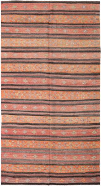 Kilim Turkish Rug 178X334 Authentic  Oriental Handwoven Light Pink/Brown (Wool, Turkey)