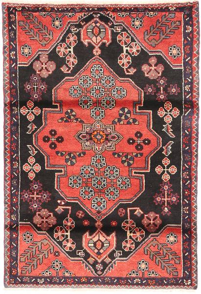 Saveh Matto 110X162 Itämainen Käsinsolmittu Musta/Tummanruskea (Villa, Persia/Iran)