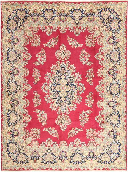 Kerman Matto 292X400 Itämainen Käsinsolmittu Ruoste/Vaaleanruskea Isot (Villa, Persia/Iran)