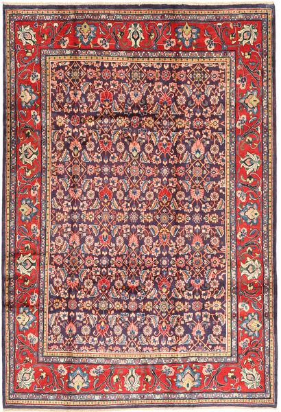 Arak Matto 215X315 Itämainen Käsinsolmittu Tummanvioletti/Ruskea (Villa, Persia/Iran)